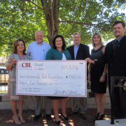 CBL donates To Greenville Tech