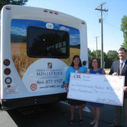 CBL donates To Greer Community Ministries